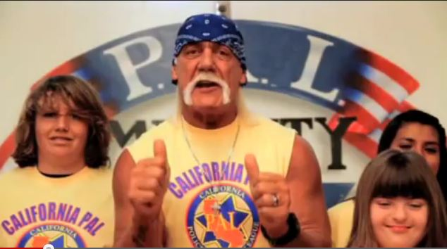 Hulk Hogan PSA for California PAL